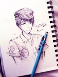 Sousuke Yamazaki Sketch by Junsopheii