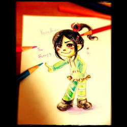 Vanellope by Nayu19