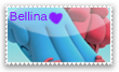 Bellina Stamp by princessforever14