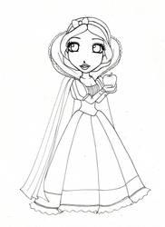 Wip Disney Princesse Blanche Neige by emiana09