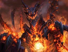 Deathwing The Destroyer by Tyfanis