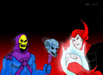 Venger and Skeletor by Vengerxx