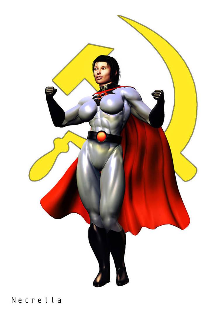 Soviet Super Women by Necrella