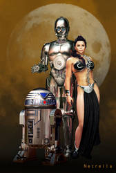 Star Wars Trio by Necrella