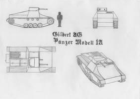 Gilbert AG Panzer Modell 1A by RJDETONADOR97