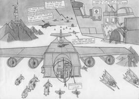 Schwarzenburg Reich - The lost fleet (comic) by RJDETONADOR97