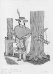 Yevheniya Colonial ranger by RJDETONADOR97