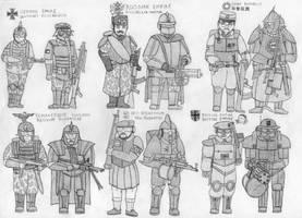 Earth Empire army uniforms - 1 by RJDETONADOR97