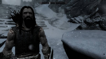 Skyrim Screenshot - My character by RJDETONADOR97