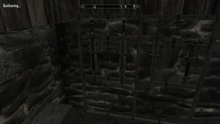 Skyrim Screenshot - Axe-sword by RJDETONADOR97