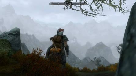 Skyrim Screenshot - Foggy Horizon by RJDETONADOR97