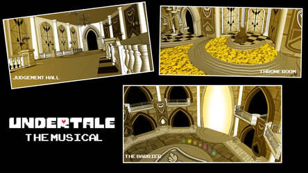 Undertale The Musical Sketchup Concept  by JH-Animatics