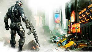Crysis 2 wallpaper FullHD by legendasfp