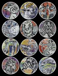 Financial New Year Zodiac by kayne