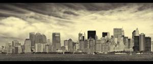 New York Waits For Irene by PortraitOfaLife