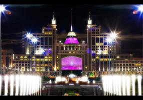 Astana Lights by PortraitOfaLife