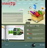 studio 79 web-site by BraveDesign