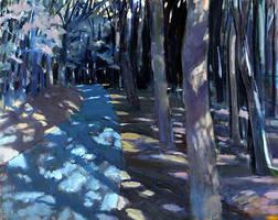 Judith Zeichner - Gray Day by QCC-Art