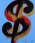 Andy Warhol - Dollar Sign by QCC-Art