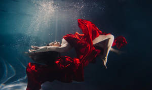 underwater red by SolMay
