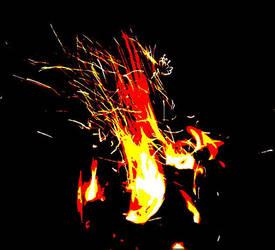 fire by goldandiodine