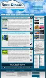 SINDH-DESIGNS Wordpress Theme by rameexgfx