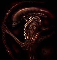 Alien Xenomorph by dtmccarson