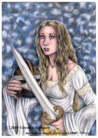 Lotr: Eowyn by Verlisaerys