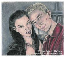 Spike and Dru by Verlisaerys