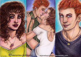 Hunger Games: Annie and Finnick by Verlisaerys