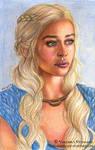 Daenerys/Emilia Clarke by Verlisaerys