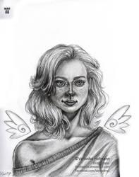 Mar 22 Angel by Verlisaerys