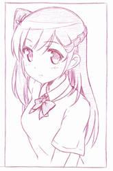 Yuuzaki Kaori? or perharps Yoshino Asami by khai90