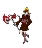 Quinn Fabray, the Queen of Blood by tharal2814