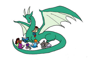 Dragon in the Daycare - Ilen by tharal2814