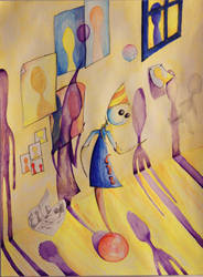 Street artist by reamream