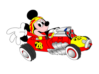 Roadster Racer Mickey by GWKTM