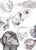 Sketchbook 23 by JHarren