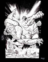 HULK vs. ABOMINATION by JHarren