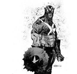 Captain Venom by JHarren