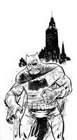 Batman Darn Knight by JHarren