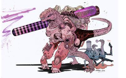 Super Dinosaur by JHarren