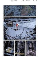 BPRD: The Long Death #3 pg 8 by JHarren