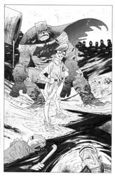 Dark Knight ECCC by JHarren