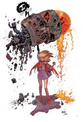 Supergirl by JHarren