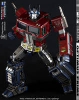 Optimus Prime MP-10 Repaint -1ShallStand1ShallFall by xeltecon