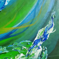 Memories of the Green River (detail) by AniseShaw
