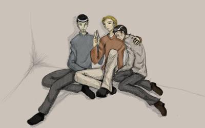 Request: Star Trek Fluff by kian