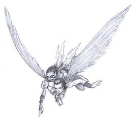 Go fly there - Janos + Raziel by kian