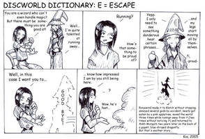 Discworld Dictionary E by kian